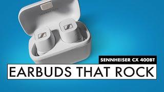 SENNHEISER Earbuds! BETTER THAN HEADPHONES?? CX 400BT Wireless Earbuds