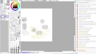 Рисуем придуманных котов воителей