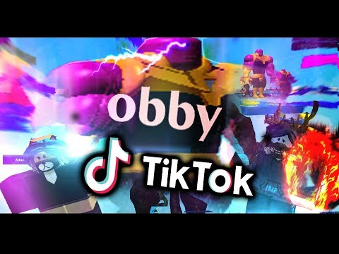"BEATING THE ""ESCAPE TIKTOK OBBY!!"" - ROBLOX"