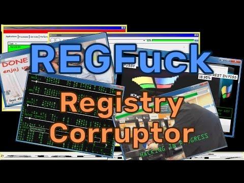 REGFuck Registry Corruptor