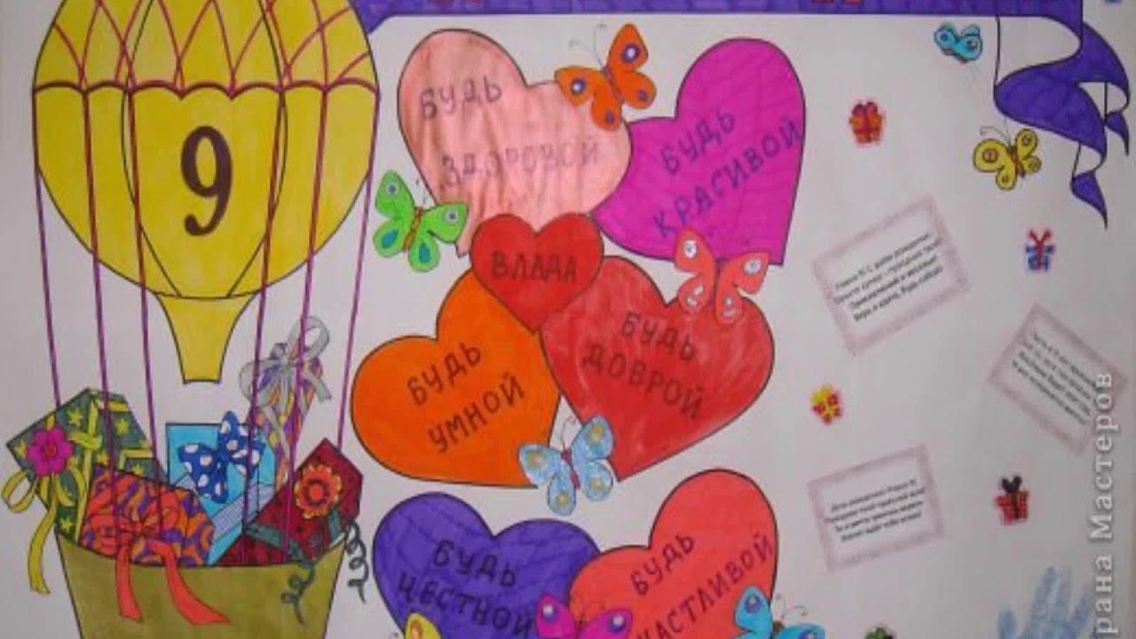 картинки с днем рождения плакат маме мне нравятся