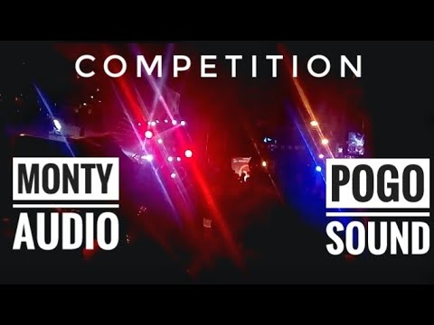 Monty audio sound v/s pogo sound competition @ belgaum