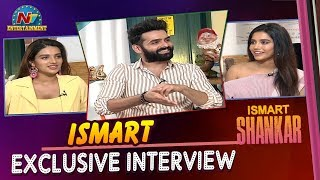 iSmart Shankar Team Exclusive Interview | Ram | Nidhhi Agerwal | Nabha Natesh | NTV Entertainment