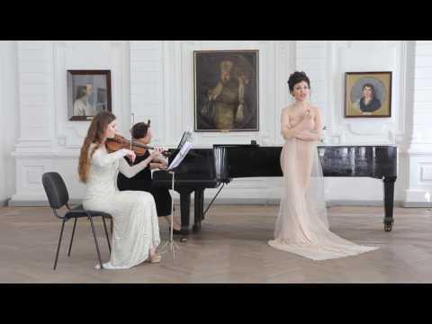 Strauss «Morgen» Voice-Leila Sherzai ,Violin - Iuliia August ,Piano- Marianna Kurbanovskayaиз YouTube · С высокой четкостью · Длительность: 3 мин47 с  · Просмотры: более 2.000 · отправлено: 14-4-2017 · кем отправлено: Leila Sherzai