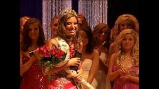 Crowning of Miss Iowa Teen USA 2012