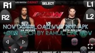 30 mb download Wwe 2k17 apk+obb on your Android device || by F.K.Technical