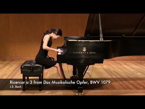 J.S. Bach - Ricercar a 3 from Das Musikalische Opfer (The Musical Offering), BWV 1079