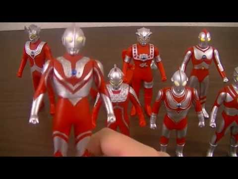 Ultra Hero 500 Spark Dolls Review Pt  1 Showa