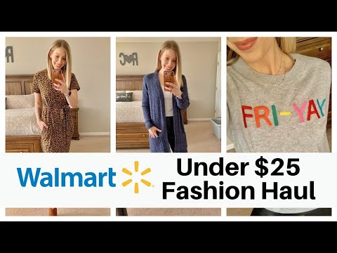2021 Walmart Clothing Try On Haul - Cute Winter & Spring Finds Under $25