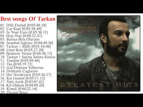 Tarkan - Greatest Hits Of Tarkan CD2 l Top 20 best Of Tarkan