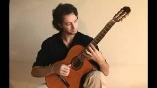 Vivaldi - Winter (Allegro, non molto -first movement-) classical guitar. FACUNDO LOPEZ (GEODA)
