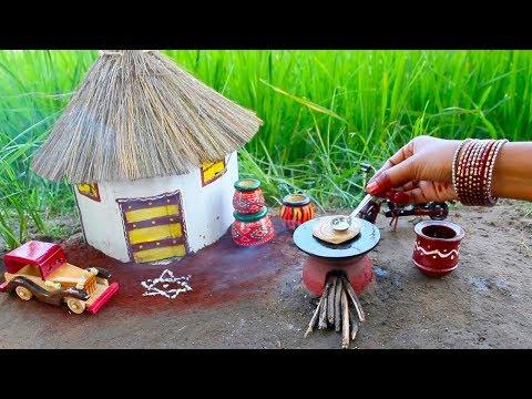 Miniature Lachha Paratha with Smokey Mutton Gravy   Lachha Paratha Recipe   Miniature Cooking #36