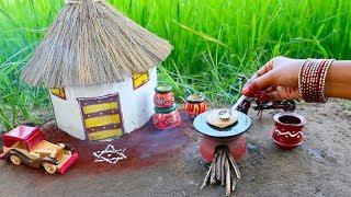 Miniature Lachha Paratha with Smokey Mutton Gravy | Lachha Paratha Recipe | Miniature Cooking #36