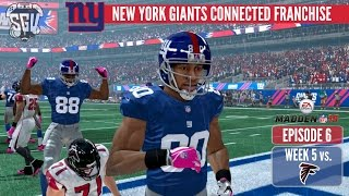 Madden 15 (PS4): New York Giants Online Connected Franchise - EP6 (Week 5 vs Falcons)