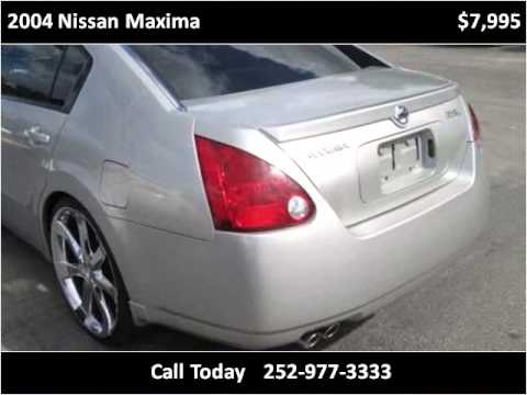 2004 nissan maxima used cars rocky mount nc youtube. Black Bedroom Furniture Sets. Home Design Ideas