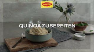 How-To: Quinoa zubereiten | MAGGI Kochstudio