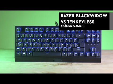 Razer Blackwidow V3 Tenkeyless #review y unboxing en español   GameIt ES