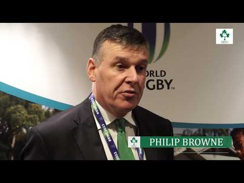 Irish Rugby TV: Philip Browne On The Outcome Of The RWC 2023 Bid Vote