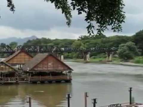 Bridge Over Kwai River - Kanchanaburi Thailand