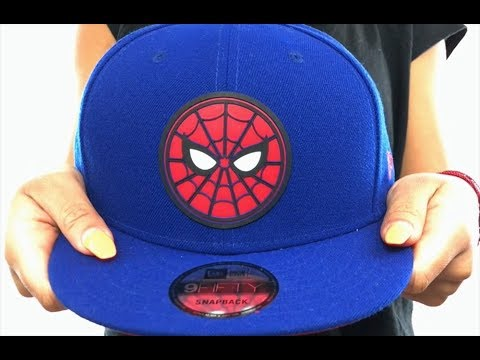 more photos 2cc52 f04d7 ... low cost spiderman beveled logo snapback royal hat by new era 36cc0  d3916