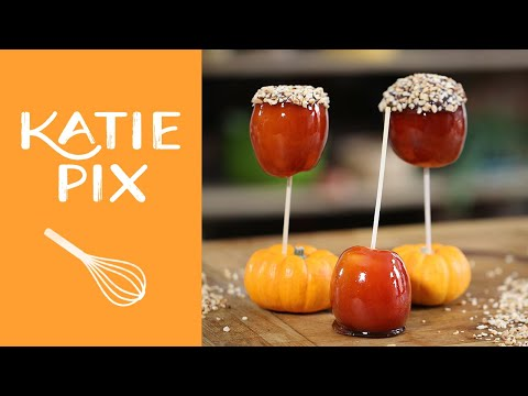 Bonfire Toffee Apples Recipe | Katie Pix