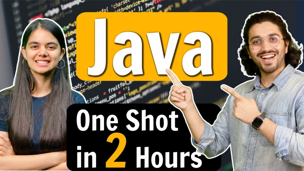 Download Java Tutorial for Beginners | Learn Java in 2 Hours