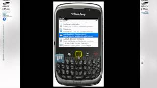 BlackBerry 8520, 8100 esta lento: como borrar aplicaciones o imágenes de BlackBerry