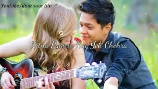 Gambar cover Kitna Pyara Hai Yeh Chehra || Romantic song || Whatsapp status video