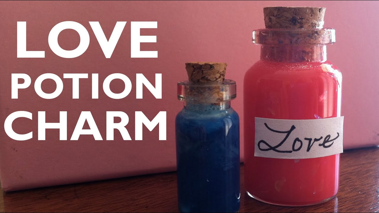 How to Make a Mini Love Potion Bottle Charm - YouTube