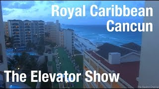 1988 Mitsubishi Traction Elevators - Royal Caribbean - The Elevator Show