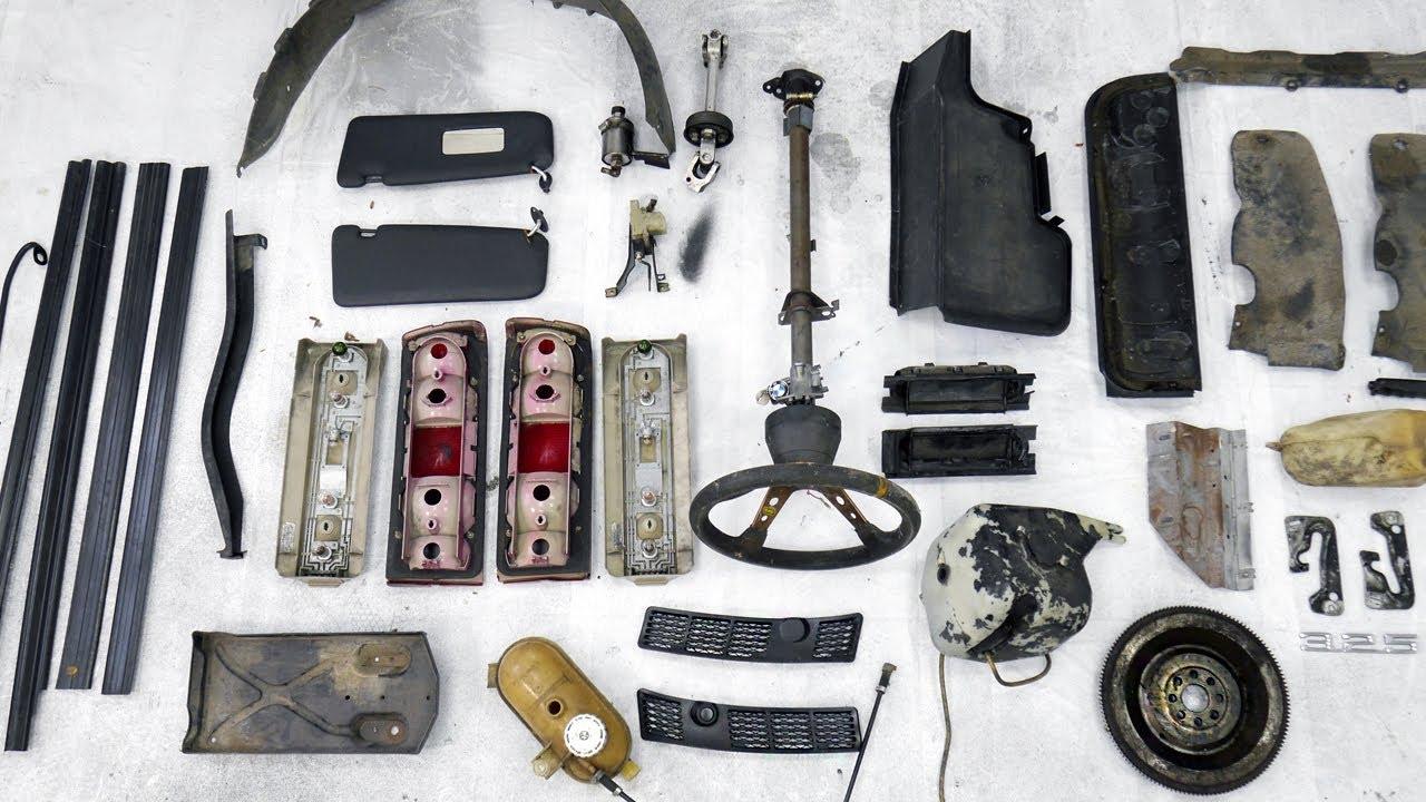 BMW E30 325i Sport Restoration - Making A Start On The Small Stuff
