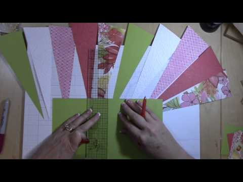 How To Make A Starburst Scrapbooking Layout