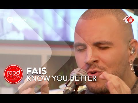Fais - 'Know You Better' live @ Roodshow Late Night