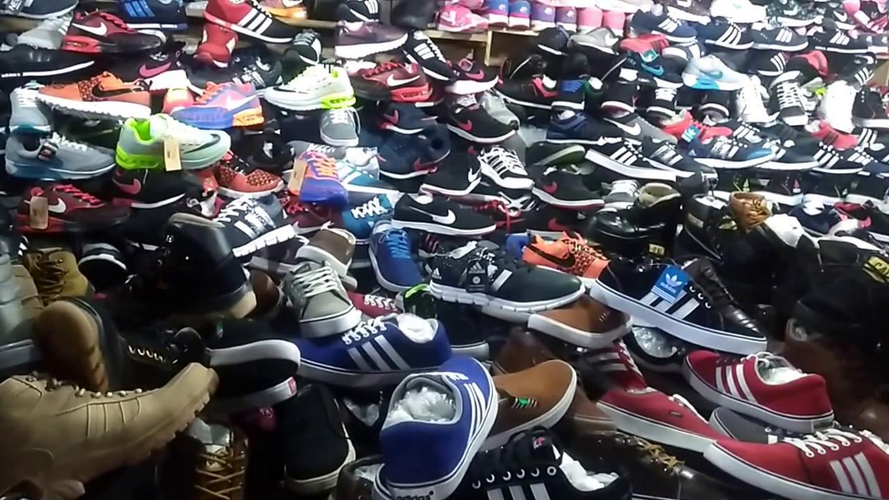 Sepatu Murah Di Pasar Malam Tegallega Bandung Youtube