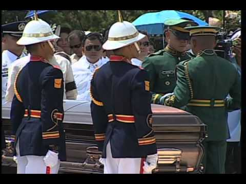 State Funeral and Final Honors for the Late DILG Sec. Jesse Robredo 8/28/12
