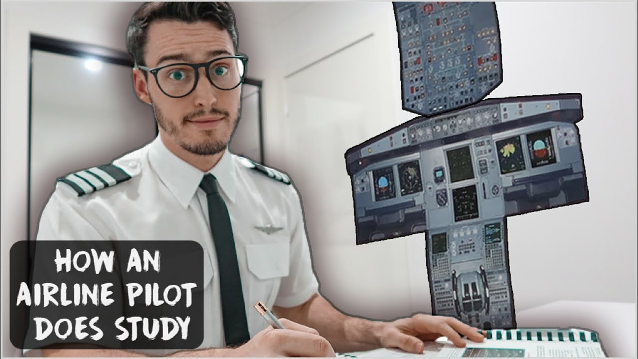 How an Airline Pilot does STUDY to fly the Airbus 320