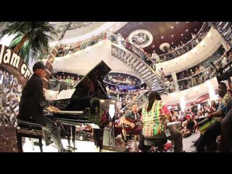 Ivan Neville - Crash (Dave Mathews Band) on Jam Cruise 13