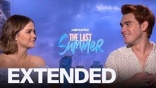 KJ Apa On Chemistry With Maia Mitchell In 'The Last Summer' | EXTENDED