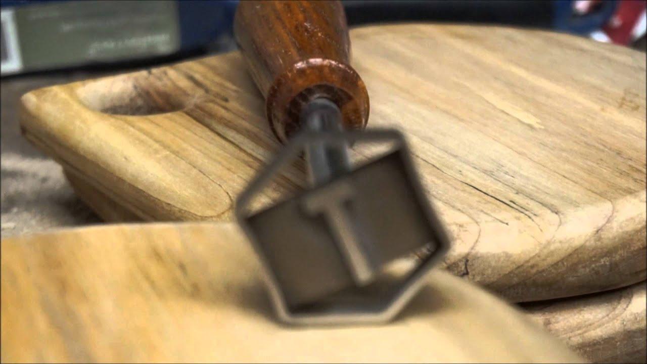 woodworking branding iron. woodworking branding iron b