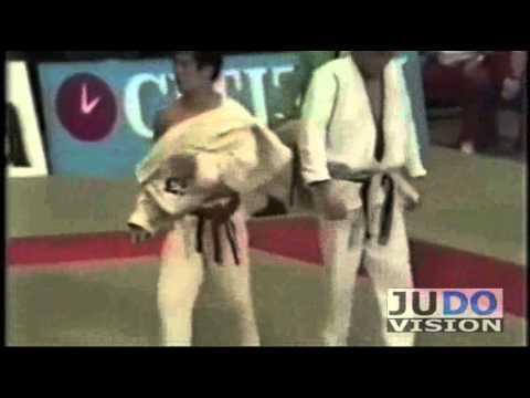 JUDO 1979 World Championships: Ezio Gamba (ITA) - Kyoto Katsuki (JPN)