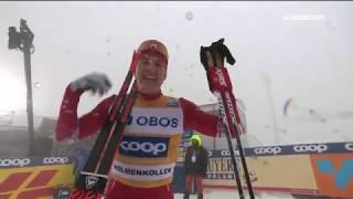 Александр Большунов выиграл марафон на 50 км в Осло