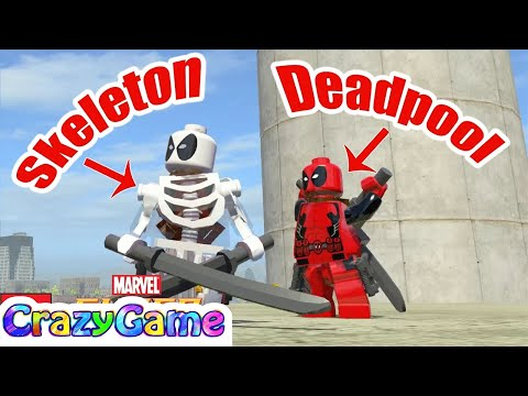How To Unlock Deadpool In Lego Marvel Super Heroes