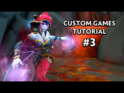 Lua Custom Ability - #3 - Dota 2 Custom Game Tutorial