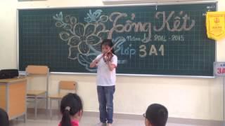 Tiết mục Violin bạn Minh Hạnh lớp 3A1,Lê Văn Tám
