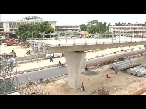 TAZARA FLYOVER PROJECT NEARS COMPLETION