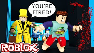 Roblox / Escape the Office Obby / EVIL BOSS MURDERER!