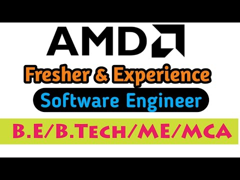 software-engineer-at-amd-|-fresher-|-b.e/b.tech/me/mca|-learning-phase|
