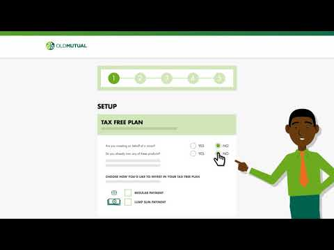 Tax Free Savings - How to Apply Online - Old Mutual