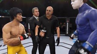 Bruce Lee vs. Michael Myers (EA Sports UFC 3) - CPU vs. CPU