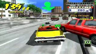 Crazy Taxi - GameCube - Arcade playthrough